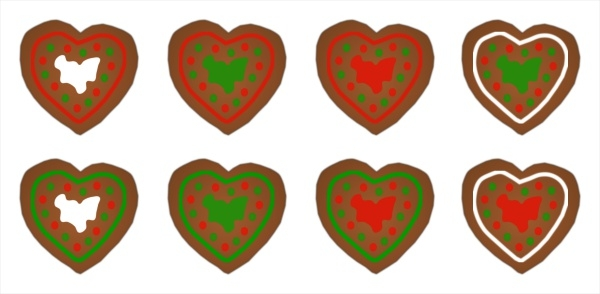 Free Christmas Cookie Clip Art