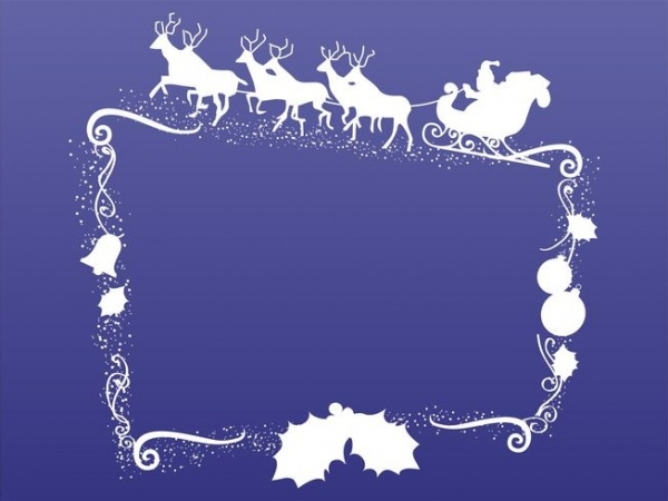 Free Christmas Decoration Frame