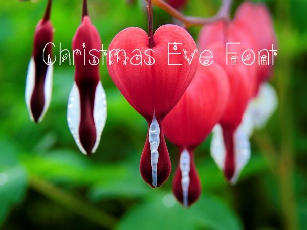 Free Christmas Eve Font