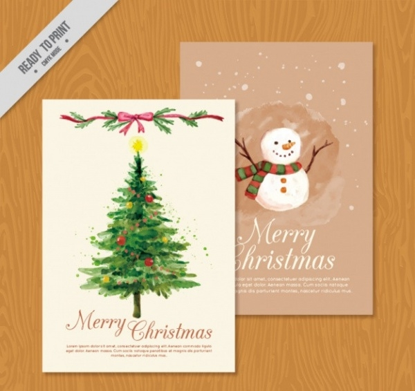 Free Christmas Flash Card