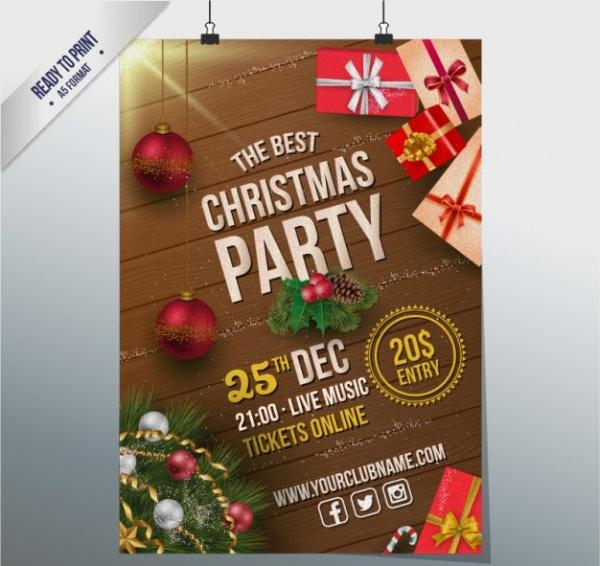 Free Christmas Flyer Design
