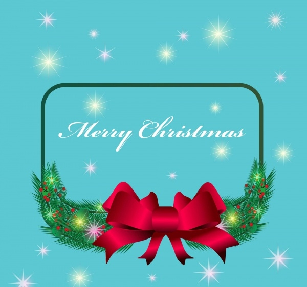 Free Christmas Greeting Frame Design