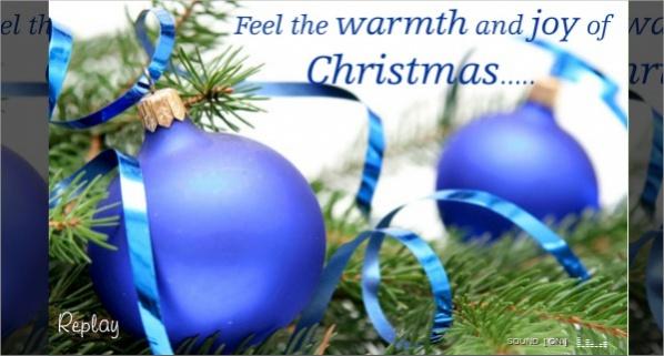 Free Christmas Greetings Ecard