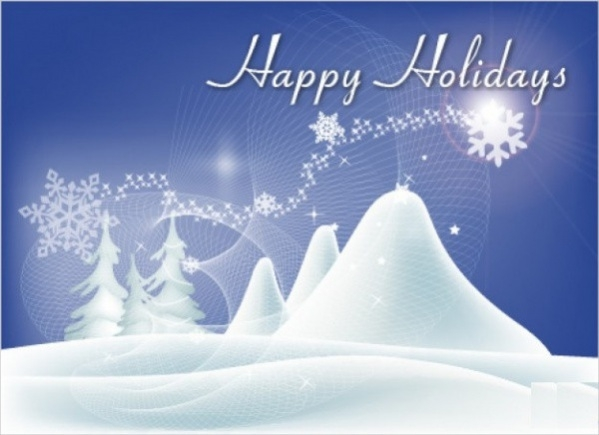Free Happy Holidays Wallpaper