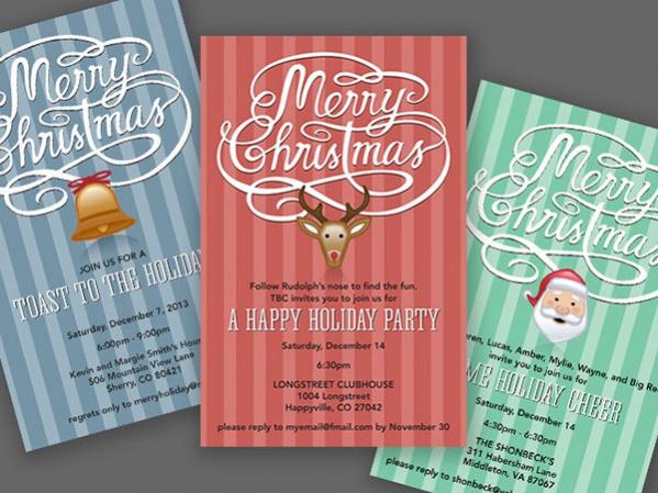 Free Christmas Invitation Printables
