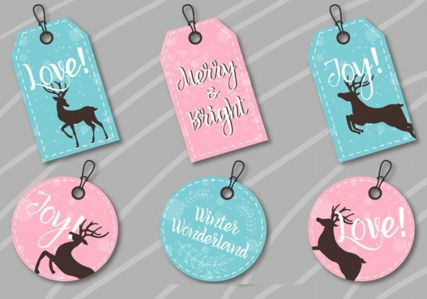 Free Christmas Label Printables
