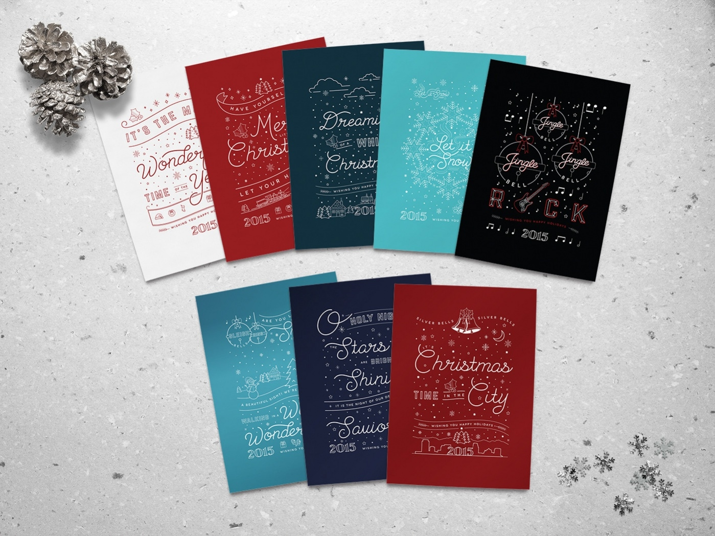 Free Christmas Menu Card