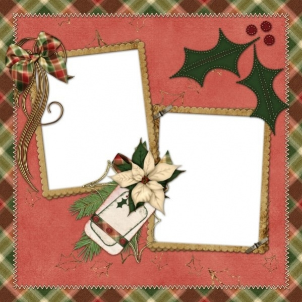 Free Christmas Photo Frame Design