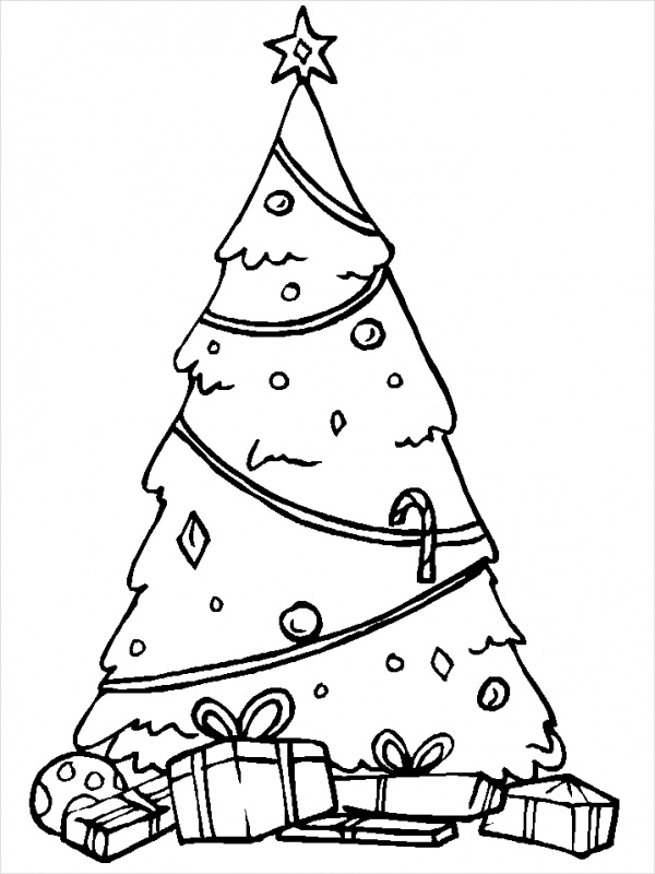 FREE 15+ Printable Christmas Coloring Pages in AI | PDF ...