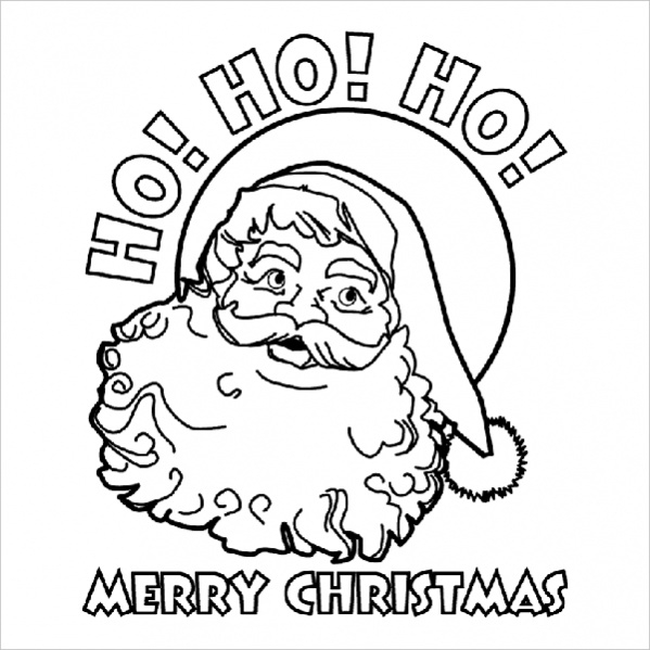 20 Free Christmas Coloring Pages