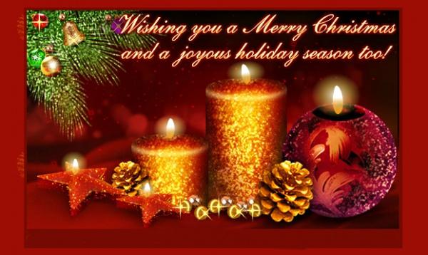 Free Christmas Thank You Ecard