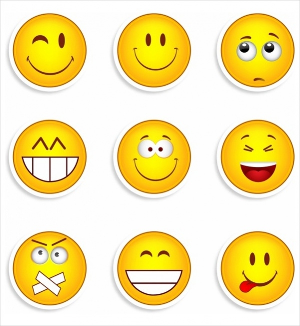 Free Collection of Smiley Faces