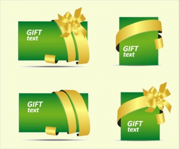 Free Colorful Gift Card Design