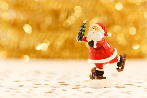 Free Colorful Santa Claus Image