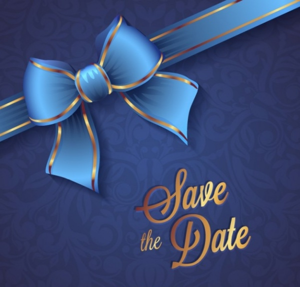 free colorful save the date template