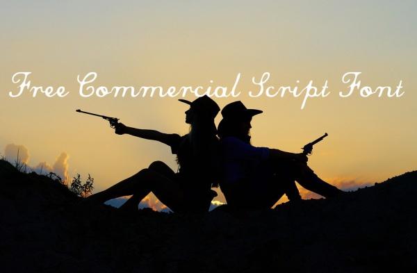 Free Commercial Script Font