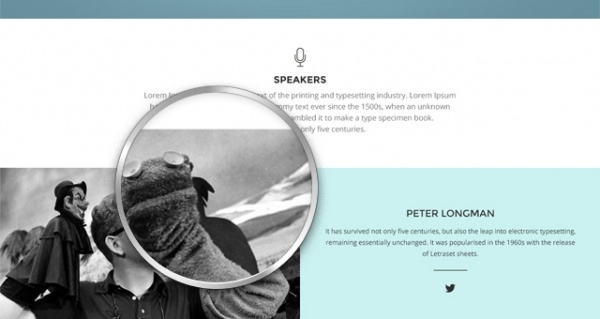Free Conference Website Template