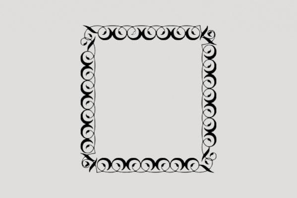Free Decorative Border Clip Art