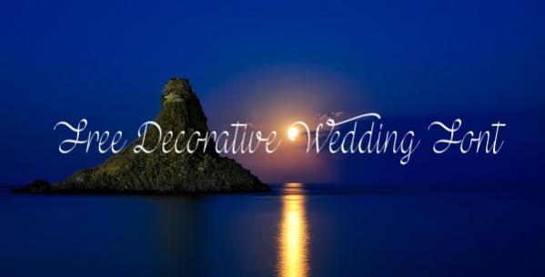 Free Decorative Wedding Font