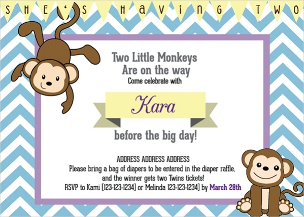 Free Digital Baby Shower Invitation