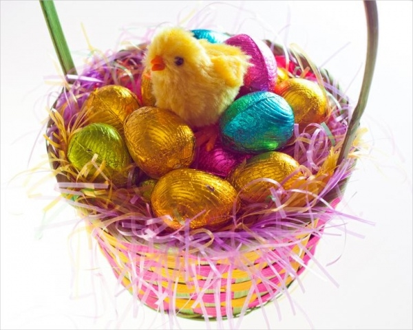 Free Easter Chick Image