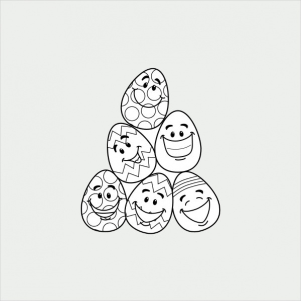 - FREE 18+ Easter Coloring Pages In AI PDF