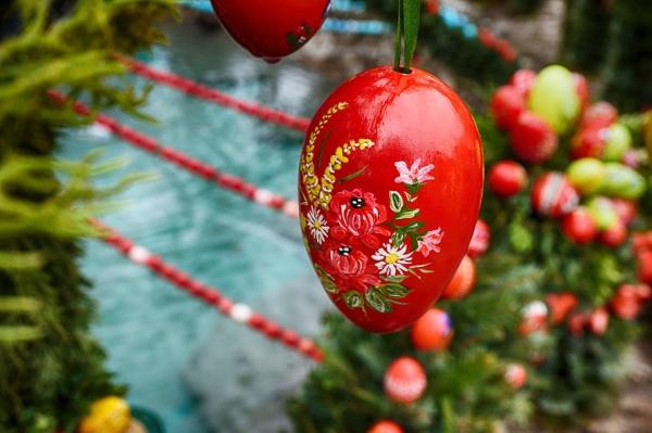 Free Easter Egg Flower Image