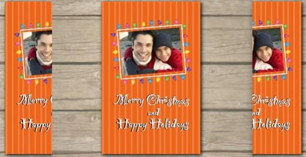 Free Elegant Christmas Card