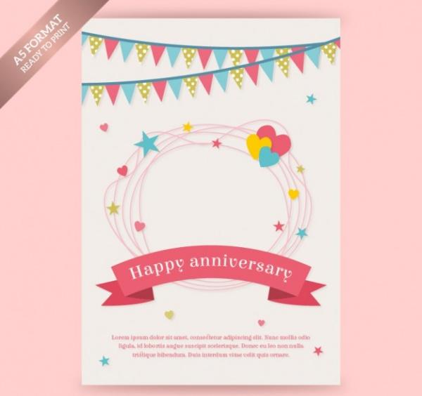 Free Employee Anniversary Card