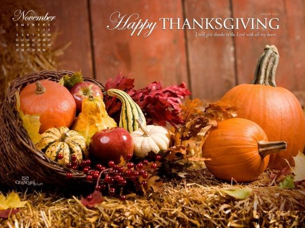 Free Fall Thanksgiving Wallpaper