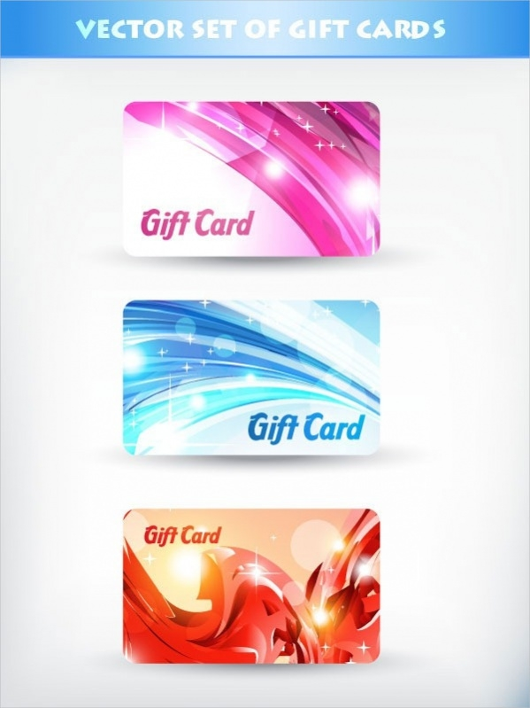 Free Fancy Gift Card Design