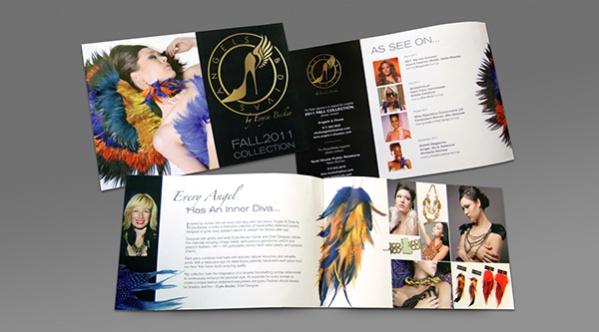 Free Fashion Leaflet Brochure Design