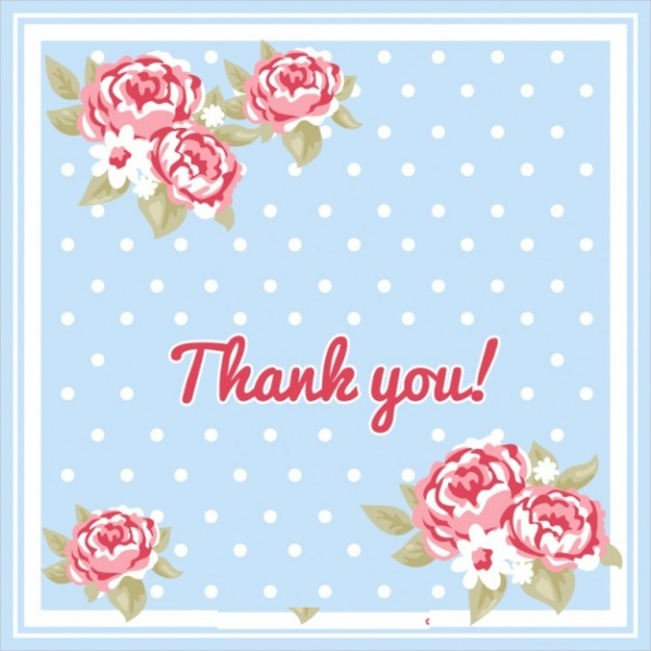 free-floral-thank-you-card