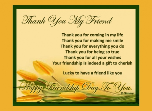 15 free thank you ecards jpg psd ai illustrator download free friend thank you ecard m4hsunfo Choice Image