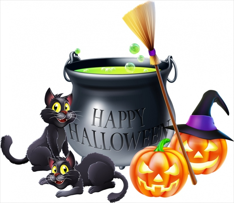 Free Funny Halloween Clipart