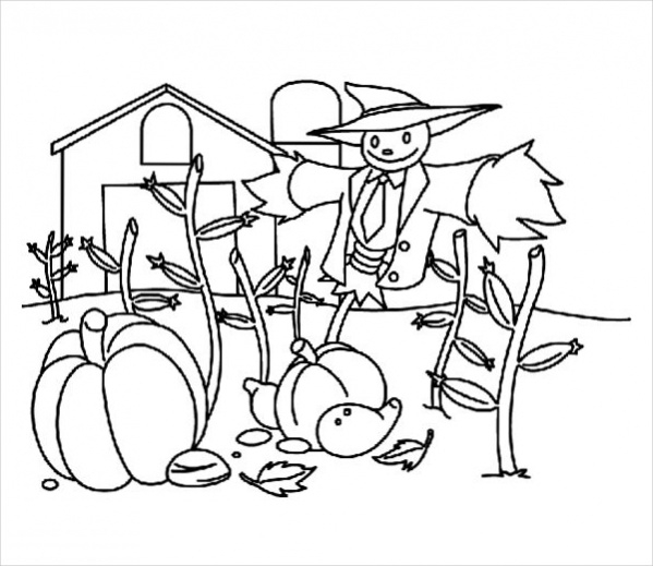Free Funny Halloween Coloring Page