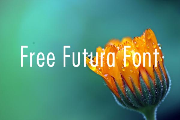 Free Futura Font