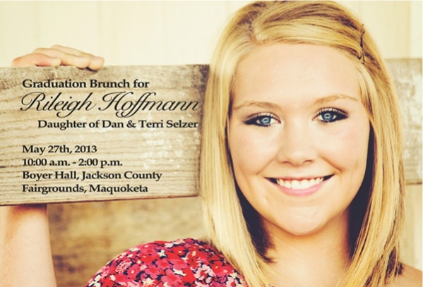 free graduation party invitation