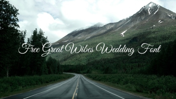 Free Great Wibes Wedding Font
