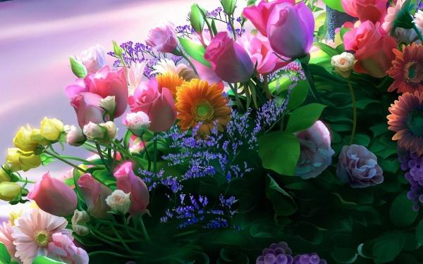 Free HD Flowers Wallpaper