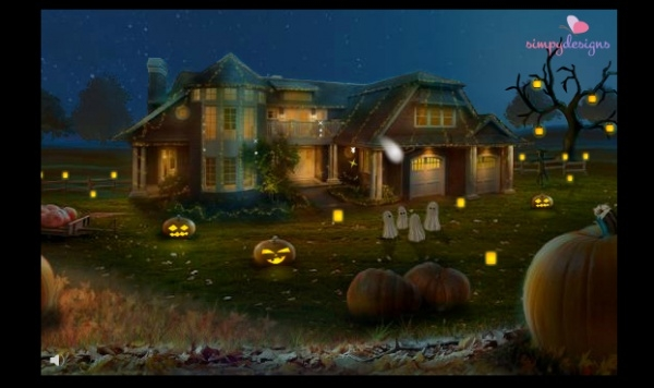 Free Halloween Animated Ecard