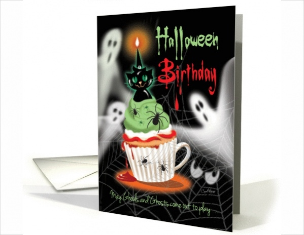Free Halloween Birthday Ecard
