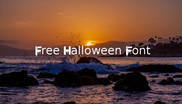 free-halloween-font