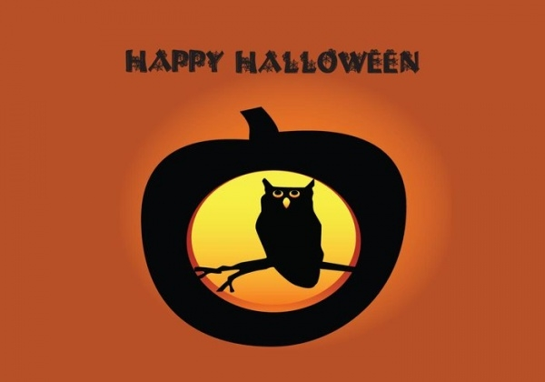 Free Halloween Owl Clipart