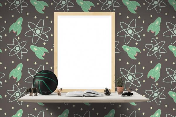 Free Handmade Christmas Frame