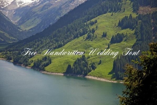Free Handwritten Wedding Font