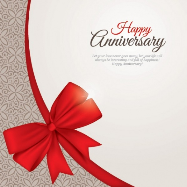 Free Happy Anniversary Card Design