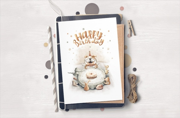 Free Happy Birthday Greeting Card