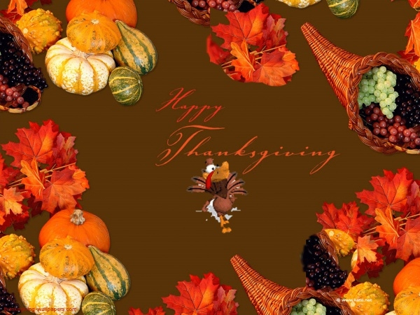 Free Happy Thanksgiving Wallpaper