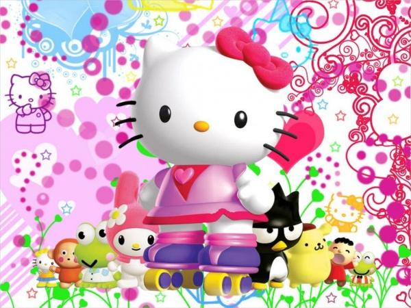 Free Hello Kitty HD Wallpaper